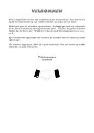 Velkomstpjece til nye studerende - It.civil.aau.dk - Aalborg Universitet