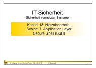 Schicht 7: Application Layer - Secure Shell