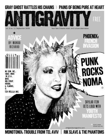 September 2009 (PDF) - Antigravity Magazine