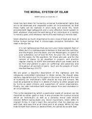 Moral system in Islam - Islam in Ireland