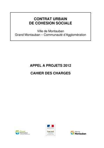 CONTRAT URBAIN DE COHESION SOCIALE - Montauban.com