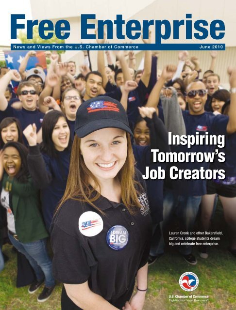 Inspiring Tomorrow's Job Creators - US Chamber of Commerce