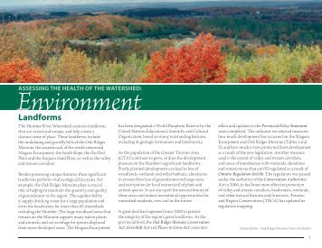 Environment - Toronto and Region Conservation Authority