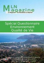 Magazine - Mandelieu La Napoule