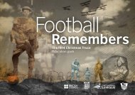 Football Remembers-Pack-Activities