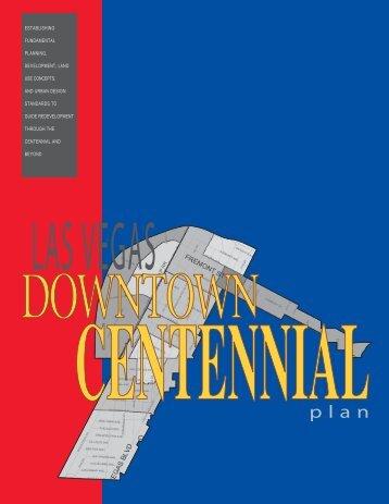 Downtown Centennial Plan - City of Las Vegas