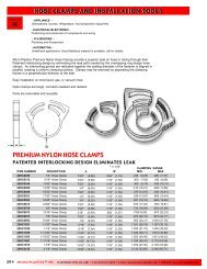 Hose Clamps & Installation Tools - RGA and PSM Fasteners