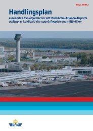 Handlingsplan - Swedavia