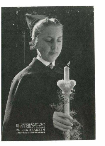 Unterwegs zu den Kranken 1958 - Schwesternschaft der ...