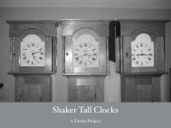 Three Shaker Clocks - Popular Woodworking Magazine