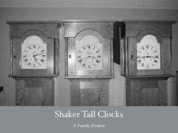 Three Shaker Clocks - Popular Woodworking Magazine