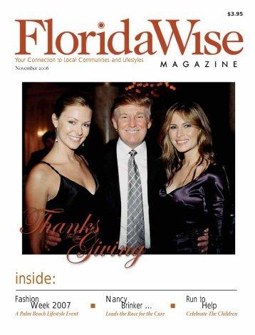 November 2006 - Florida Wise