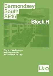 Bermondsey South SE16 Block H Bermondsey South SE16