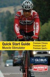 Globus Quick Start Guide - Hammer Nutrition