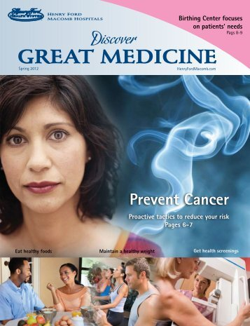 GREAT MEDICINE - Henry Ford Health System