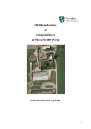 12 godkendelse vedr. udvidelse af kvæghold på Pittevej 18, 8881 ...