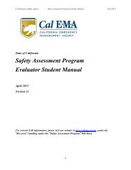 Safety Assessment Program Evaluator Student Manual