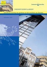 100 inkoopvoorwaarden 2009:brochure.qxd - Gemeente Leeuwarden