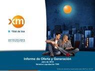 Aportes Hídricos al SIN hasta Julio de 2012 - XM