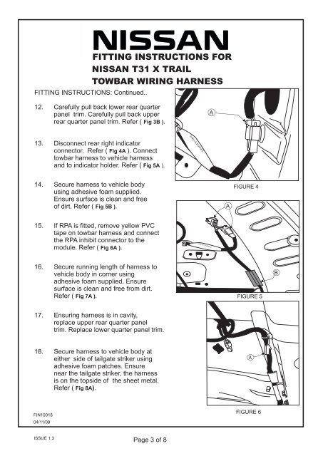 Fitting Instructions Fitt