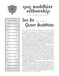 2002.08 Roger Corless (Sex for Queer Buddhists). - Gay Buddhist ...