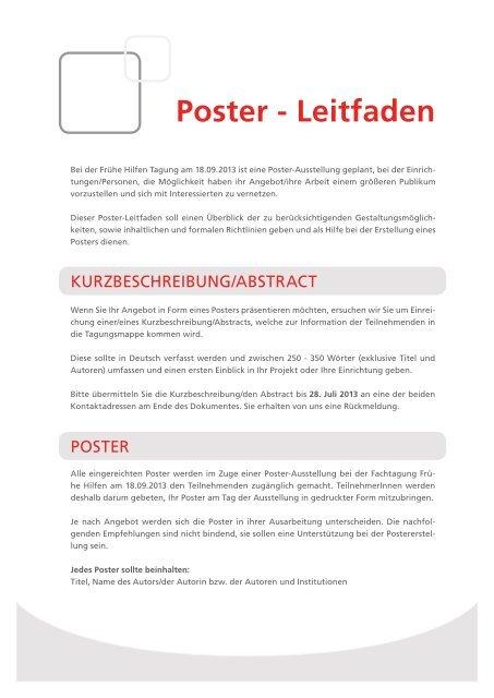 Poster Leitfaden Pdf Vivid