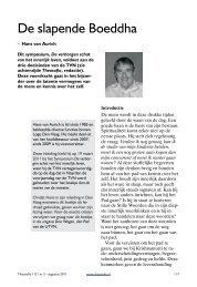 De slapende Boeddha - Theosofische Vereniging in Nederland