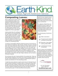Composting Leaves: - Aggie Horticulture