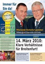 unsere heimat - VP Breitenfurt