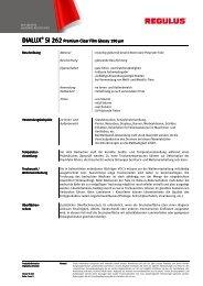Datenblatt SI 262 - Regulus.de