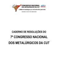 Caderno de resoluções do 7º Congresso está ... - CNM/CUT