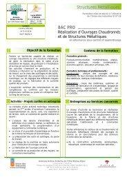 Bac Pro ROC - UIMM Drôme Ardèche