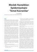 Meslek Hastalıkları Epidemiyolojisi 'Temel Kavramlar' - Klinik Gelişim - Page 7