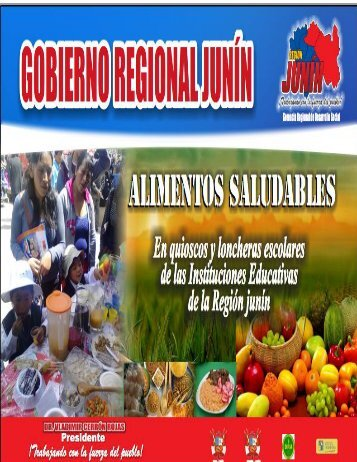 directiva regional-alimentos saludables en quioscos y ... - DRE Junín