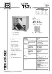 Vallox 132 E - Taloon.com