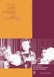 Jahresbericht 2009 als PDF herunterladen - Frauenhaus und ...