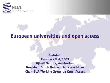 Slides - 10th International Bielefeld Conference
