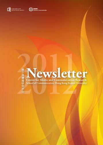 Newsletter 2011 - School of Communication - Hong Kong Baptist ...