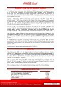 COCA-COLA İÇECEK A.Ş. INTERIM REPORT as of September 30 ... - Page 3