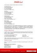 COCA-COLA İÇECEK A.Ş. INTERIM REPORT as of September 30 ... - Page 5