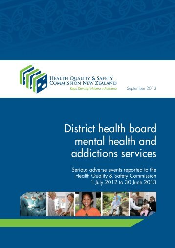 DHB mental health and addictions services report ... - Pharmacy Today