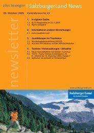 Nummer 43/2005 - SalzburgerLand Netoffice