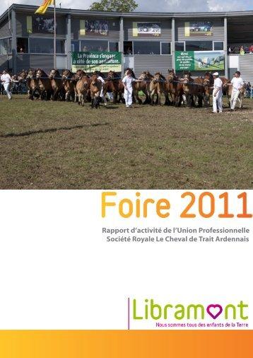 Rapport d'activité - La Foire de Libramont