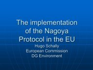 The implementation of the Nagoya Protocol in the EU - UNU-ISP