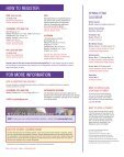Spring 2010 SCPS Bulletin - School of Continuing and Professional ... - Page 2