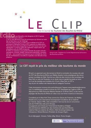 Clip Juillet 2010.pdf - Accueil - Bouches du Rhône