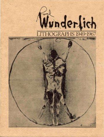 LITHOGRAPHS 1949-1967 - Auckland Art Gallery