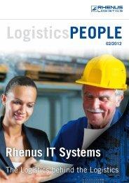 LOGISTICS People 02/2012 - Rhenus Logistics