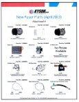 New Products April 2013 - CBS Parts Ltd. - Page 2