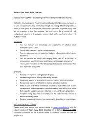 Subject: Peer Study Skills Coaches